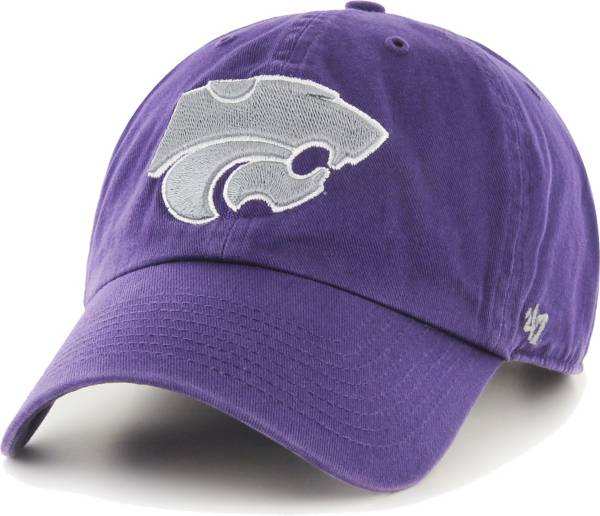 '47 Men's Kansas State Wildcats Purple Clean Up Adjustable Hat product image