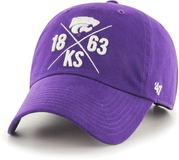'47 Men's Kansas State Wildcats Purple East Side Clean Up Adjustable Hat product image