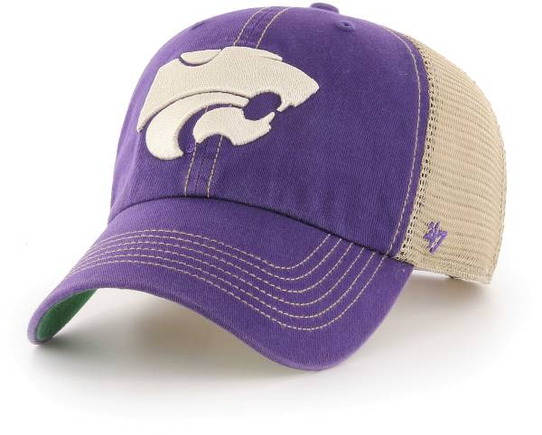 '47 Men's Kansas State Wildcats Purple Trawler Adjustable Hat product image