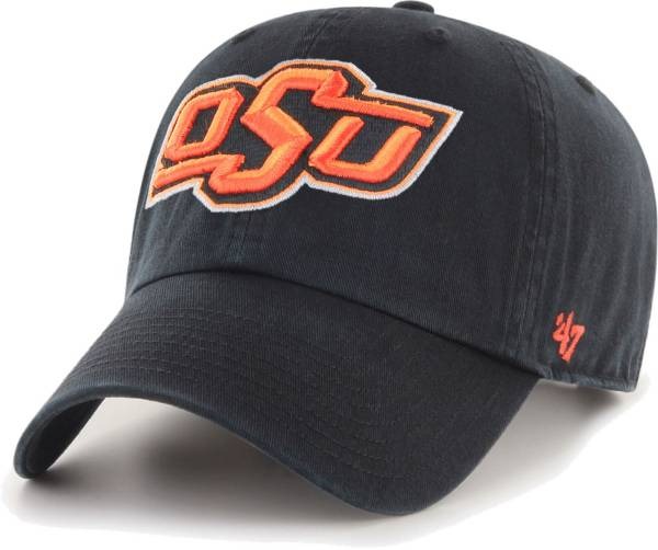 '47 Men's Oklahoma State Cowboys Clean Up Adjustable Black Hat product image