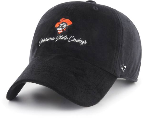 '47 Women's Oklahoma State Cowboys Paris Clean Up Adjustable Black Hat product image