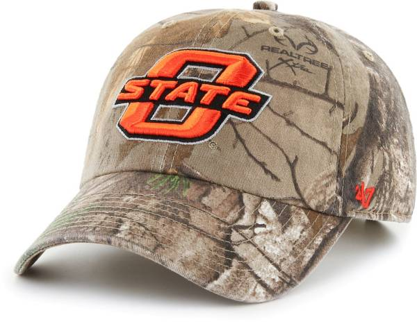 '47 Men's Oklahoma State Cowboys Camo Realtree Clean Up Adjustable Hat product image