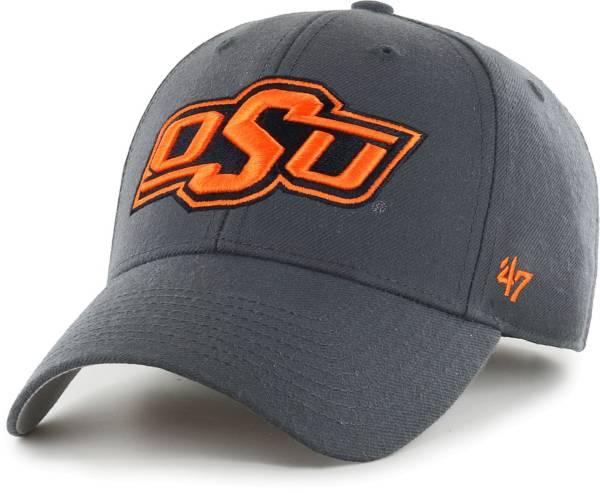 '47 Men's Oklahoma State Cowboys Grey MVP Adjustable Hat product image