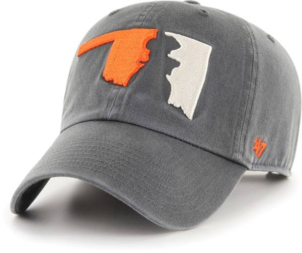 '47 Men's Oklahoma State Cowboys Grey Sure Shot Clean Up Adjustable Hat product image