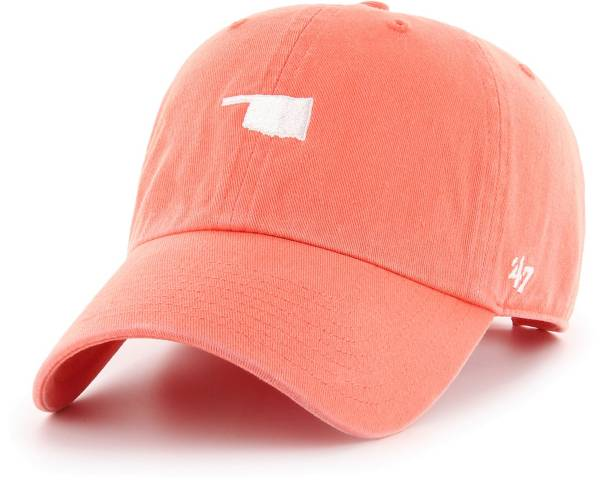 '47 Men's Oklahoma State Cowboys Pink Centerfield Clean Up Adjustable Hat product image