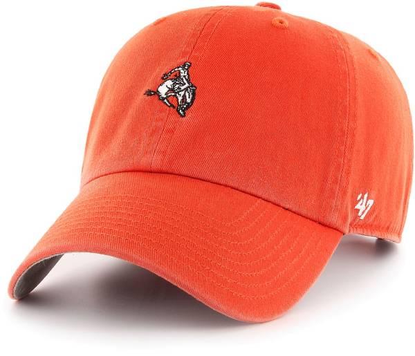 '47 Men's Oklahoma State Cowboys Orange Base Runner Clean Up Adjustable Hat product image