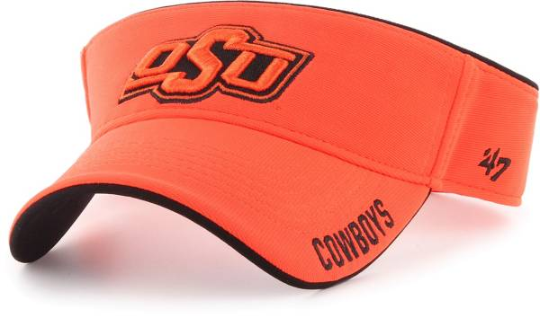 '47 Men's Oklahoma State Cowboys Orange Top Rope Adjustable Visor product image