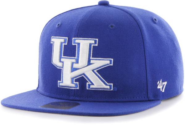 '47 Men's Kentucky Wildcats Blue Sure Shot Captain Adjustable Hat product image