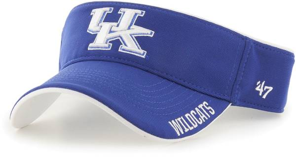 '47 Men's Kentucky Wildcats Blue Top Rope Adjustable Visor product image