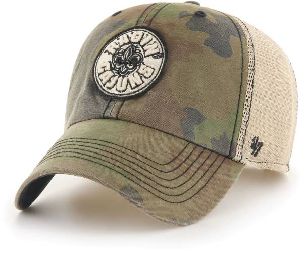 '47 Men's Louisiana-Lafayette Ragin' Cajuns Camo Burnett Clean Up Adjustable Hat product image