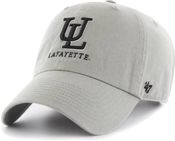 '47 Men's Louisiana-Lafayette Ragin' Cajuns Grey Clean Up Adjustable Hat product image