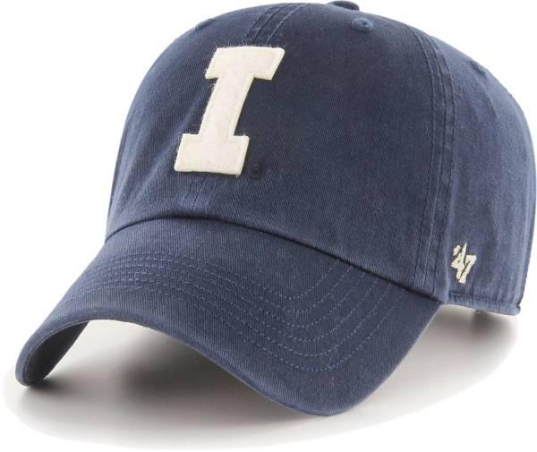 '47 Men's Illinois Fighting Illini Blue Clean Up Adjustable Hat product image