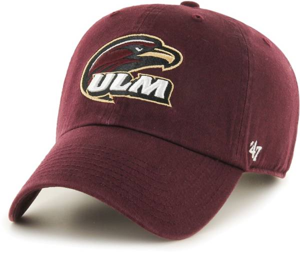 '47 Men's Louisiana-Monroe Warhawks Maroon Clean Up Adjustable Hat product image