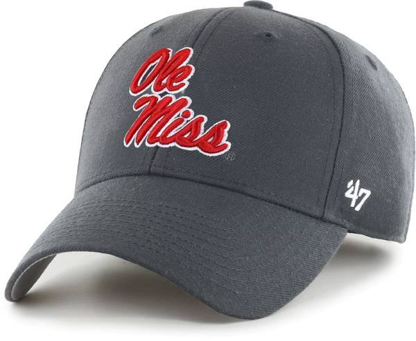 '47 Men's Ole Miss Rebels Grey MVP Adjustable Hat product image