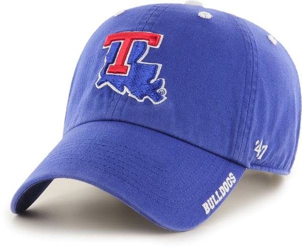 '47 Men's Louisiana Tech Bulldogs Blue Ice Clean Up Adjustable Hat product image