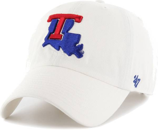 '47 Men's Louisiana Tech Bulldogs Clean Up Adjustable White Hat product image