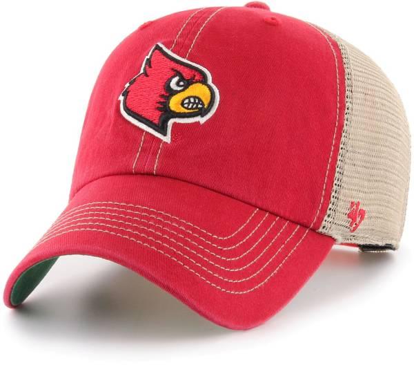 '47 Men's Louisville Cardinals Cardinal Red Trawler Adjustable Hat product image