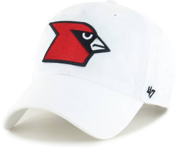 '47 Men's Louisville Cardinals Clean Up Adjustable White Hat product image
