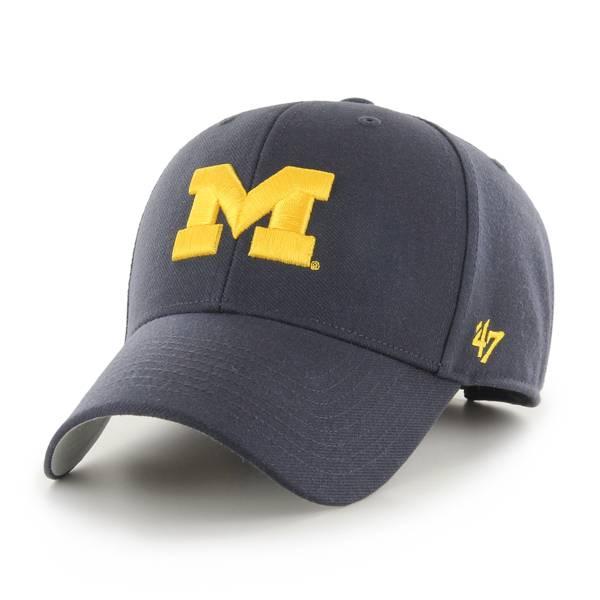 '47 Men's Michigan Wolverines Maize MVP Adjustable Hat product image