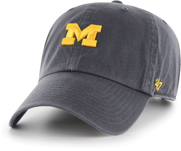 '47 Women's Michigan Wolverines Blue Clean Up Adjustable Hat product image