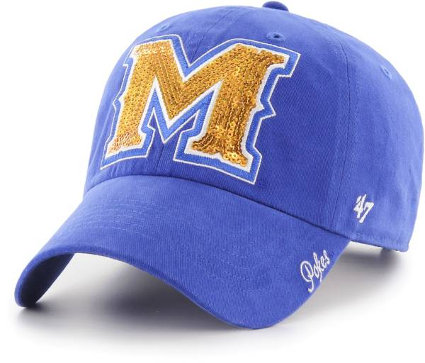 '47 Women's McNeese State Cowboys Royal Blue Sparkle Clean Up Adjustable Hat product image