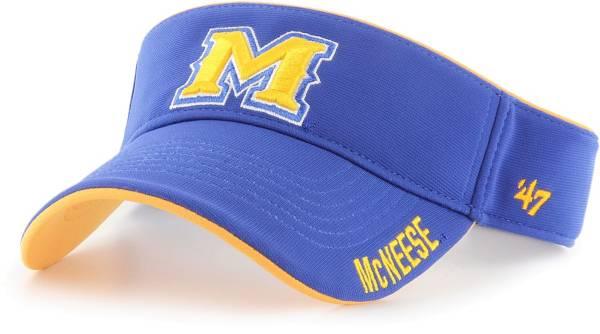 '47 Men's McNeese State Cowboys Royal Blue Top Rope Adjustable Visor product image