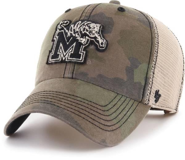 '47 Men's Memphis Tigers Camo Burnett Clean Up Adjustable Hat product image