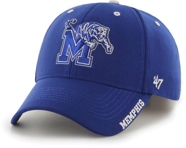 '47 Men's Memphis Tigers Blue Condenser MVP Adjustable Hat product image