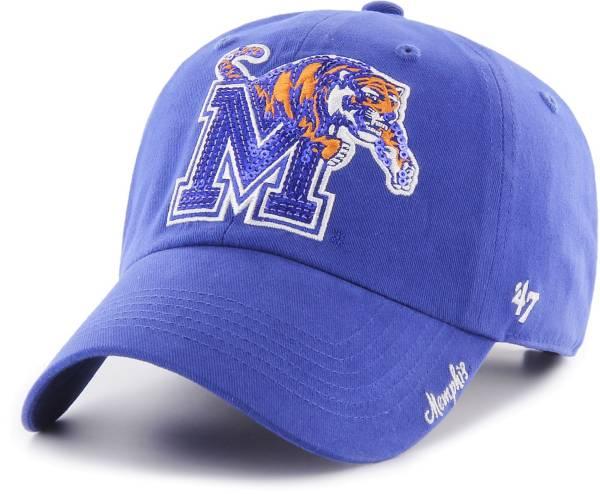 '47 Women's Memphis Tigers Blue Sparkle Clean Up Adjustable Hat product image