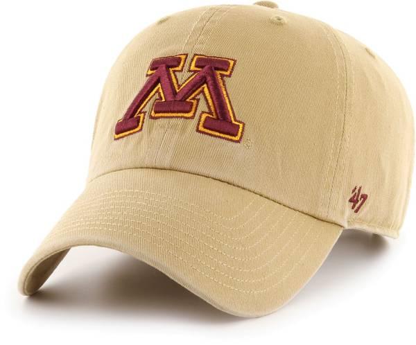 '47 Men's Minnesota Golden Gophers Gold Clean Up Adjustable Hat product image