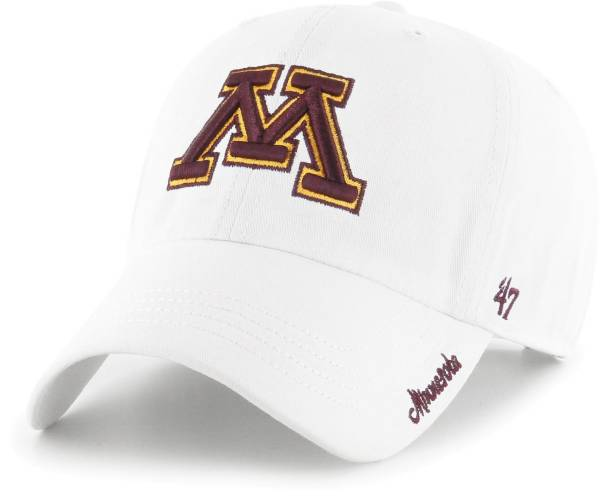 '47 Women's Minnesota Golden Gophers White Miata Clean Up Adjustable Hat product image