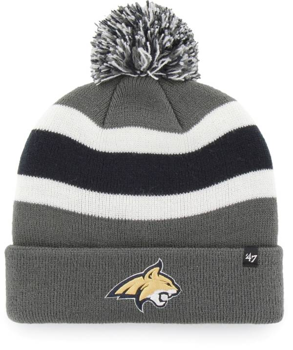 '47 Men's Montana State Bobcats Grey Breakaway Cuffed Knit Hat product image