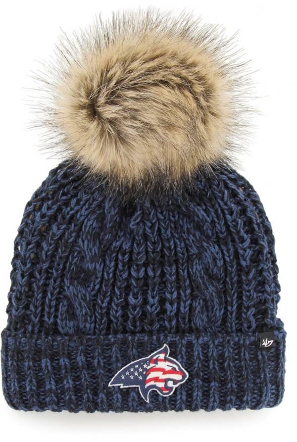 '47 Men's Montana State Bobcats Blue OHT Meeko Cuffed Knit Hat product image