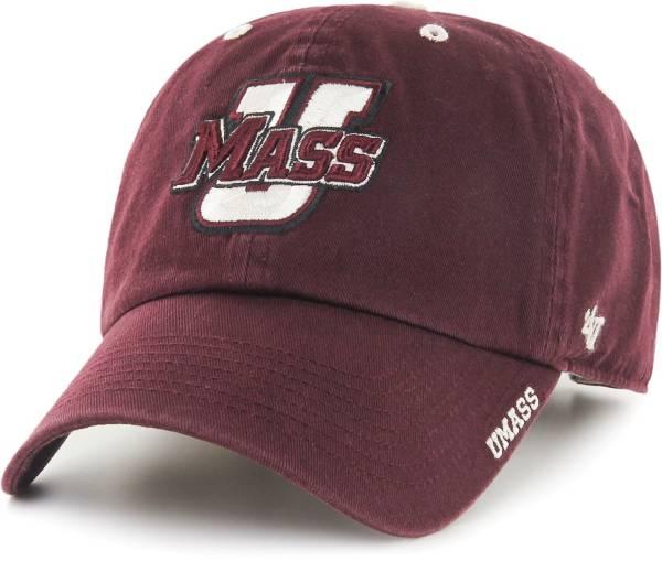 '47 Men's UMass Minutemen Maroon Ice Clean Up Adjustable Hat product image