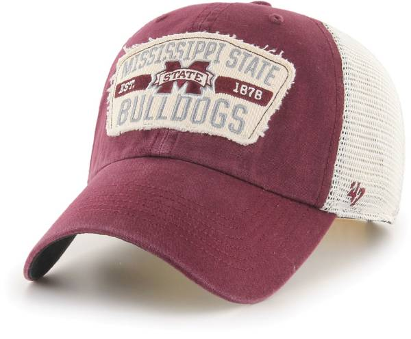 '47 Men's Mississippi State Bulldogs Maroon Crawford Clean Up Adjustable Hat product image