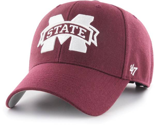 '47 Men's Mississippi State Bulldogs Maroon MVP Adjustable Hat product image