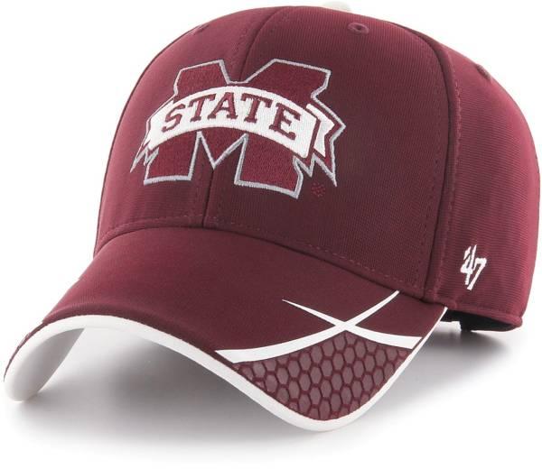 '47 Men's Mississippi State Bulldogs Maroon Sensei MVP Adjustable Hat product image