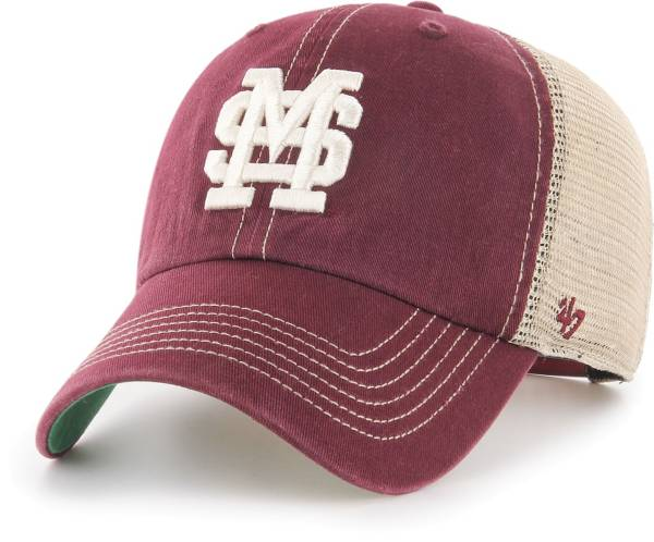 '47 Men's Mississippi State Bulldogs Maroon Trawler Adjustable Hat product image