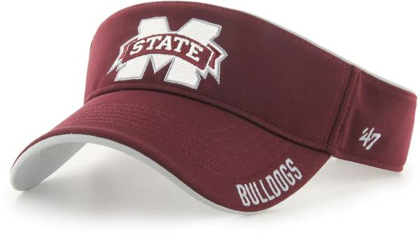 '47 Men's Mississippi State Bulldogs Maroon Top Rope Adjustable Visor product image