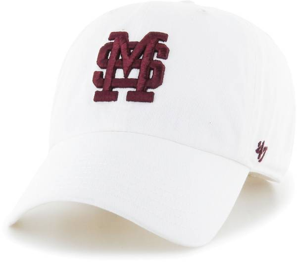 '47 Men's Mississippi State Bulldogs Clean Up Adjustable White Hat product image