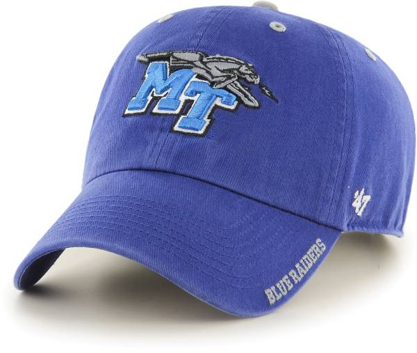 '47 Men's Middle Tennessee State Blue Raiders Blue Ice Clean Up Adjustable Hat product image