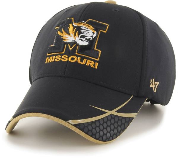 '47 Men's Missouri Tigers Sensei MVP Adjustable Black Hat product image