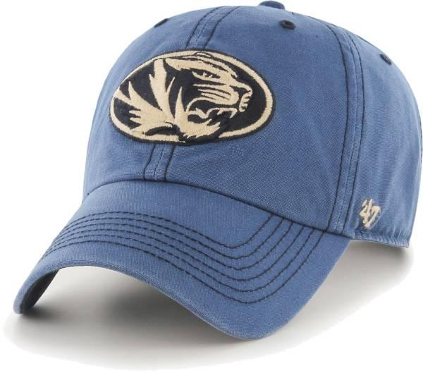 '47 Men's Missouri Tigers Blue Clean Up Adjustable Hat product image