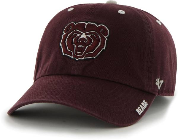 '47 Men's Missouri State Bears Grey Ice Clean Up Adjustable Hat product image