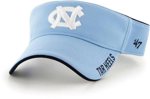 '47 Men's North Carolina Tar Heels Carolina Blue Top Rope Adjustable Visor product image
