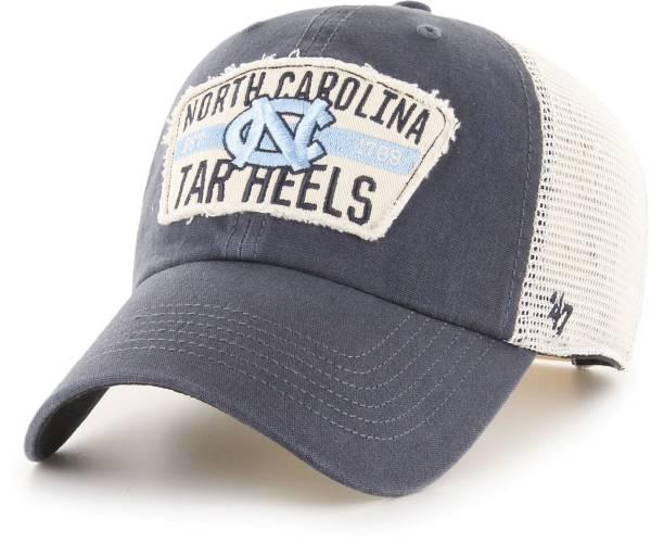 '47 Men's North Carolina Tar Heels Navy Crawford Clean Up Adjustable Hat product image