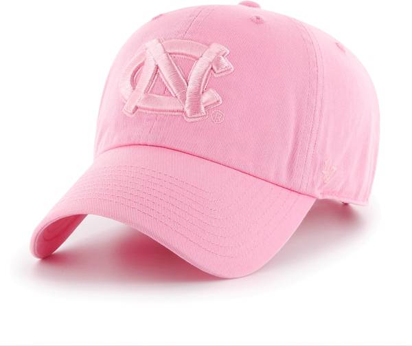 '47 Men's North Carolina Tar Heels Pink Clean Up Adjustable Hat product image