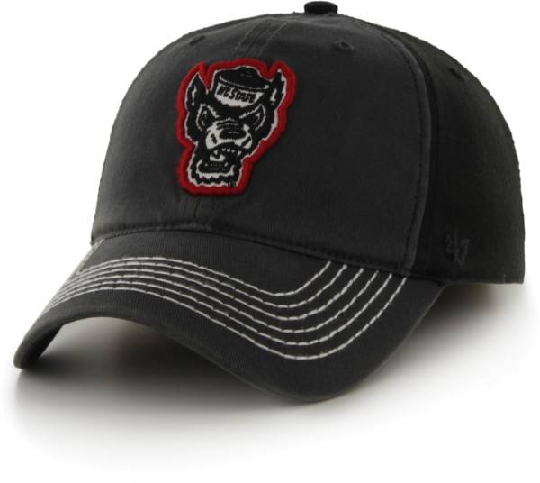 '47 Men's NC State Wolfpack Coffman Fitted Black Hat product image