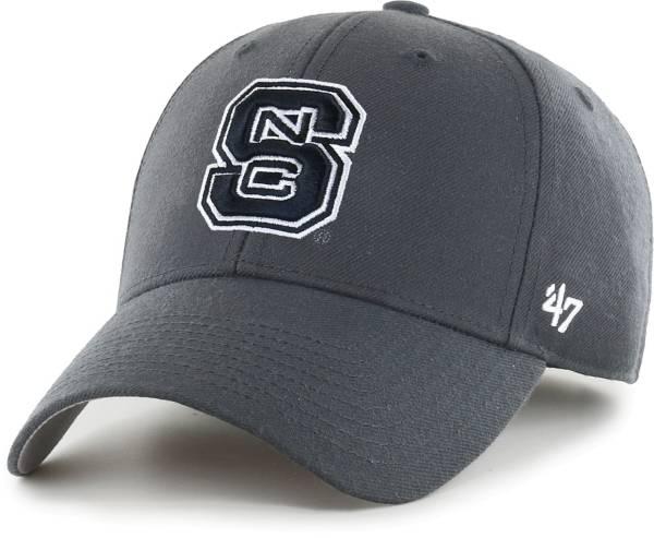 '47 Men's NC State Wolfpack Grey MVP Adjustable Hat product image