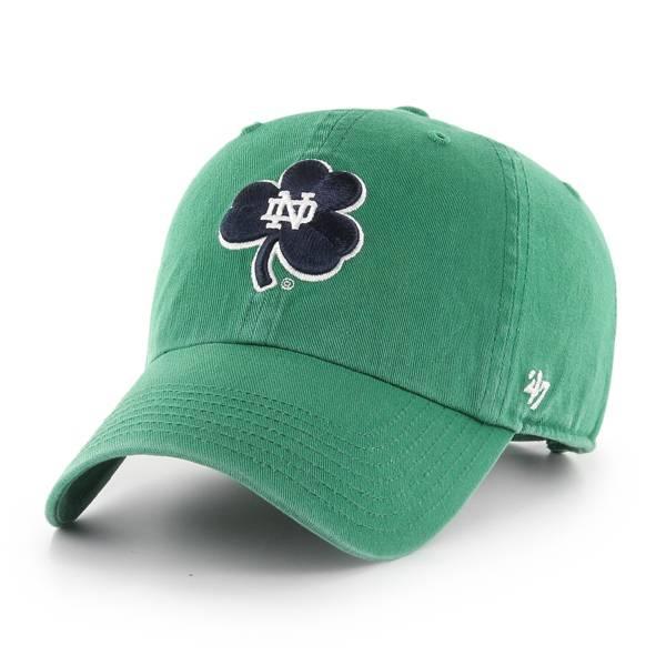 '47 Men's Notre Dame Fighting Irish Clean Up Adjustable Hat product image